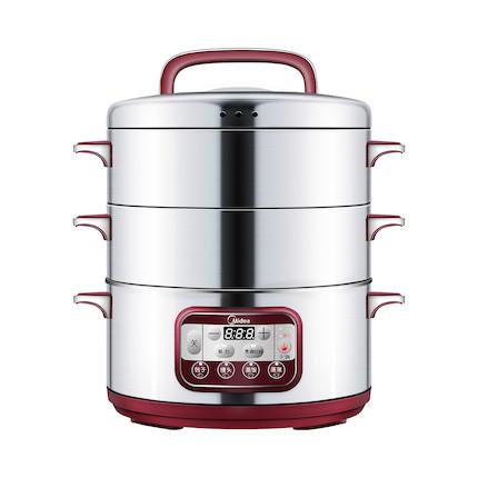 电蒸锅 2层大容量 防干烧 极速出蒸汽 SYS28-22