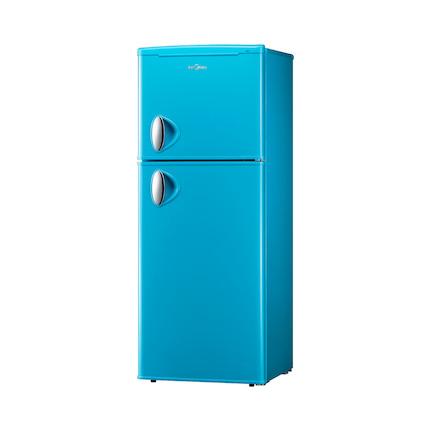 冰箱 低噪静音 两天一度电 BCD-132CM(E)天际蓝