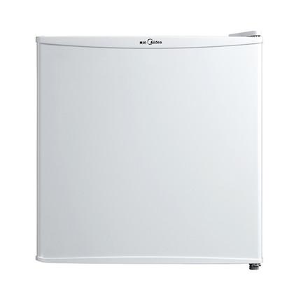 美的冰箱 45升 迷你单门冷藏冰箱 内置贴心冰温室 BC-45M