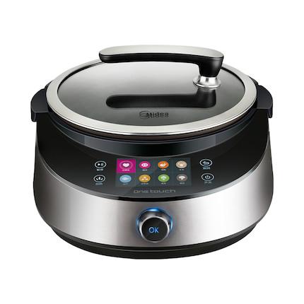 烹饪机/炒菜机 一键烹饪 4.3寸彩屏 精钢铁釜 IH智能加热 PY18-X5