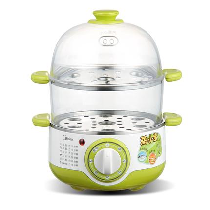 【蒸小宝】电蒸锅 定时烹饪 不锈钢双层 预约蒸蛋器 MZ-SYH18-2A