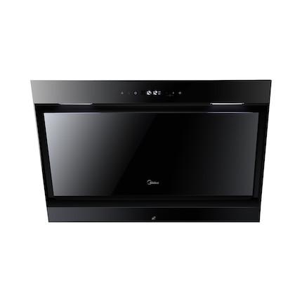 【送小烤箱】【蒸汽洗】吸油烟机 全黑钢化玻璃面板 CXW-200-DJ570R