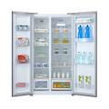 Midea/美的冰箱516L 风冷无霜 电脑控温 二级能效BCD-516WKM(E)泰坦银