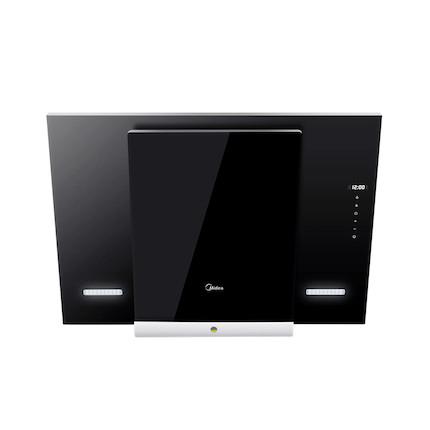 【蒸汽洗】吸油烟机 云智能 黑晶钢化玻璃 CXW-200-DJ370R