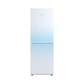 Midea/美的冰箱 双门冰箱 节能静音 BCD-190CM(E)格菱蓝