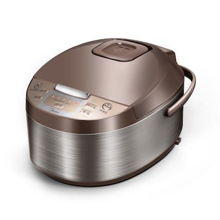 【高性价比】电饭煲 拉丝不锈钢机身 4L大容量 一键柴火饭 MB-WFD4016