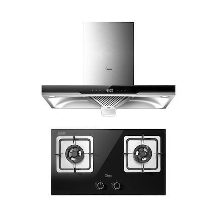 【蒸汽洗】烟灶套装 智能感温开机 DT570R+Q360B