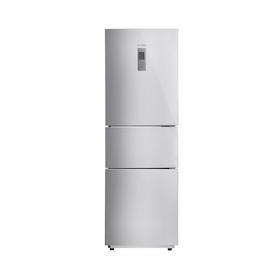 Midea/美的冰箱 智能三门控温 两天一度电 10KG强冷冻力 BCD-215TZM(E)
