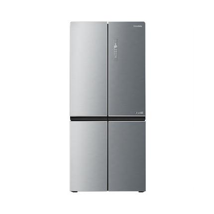 Midea/美的冰箱 十字对开 四门三温 等离子除菌 水润风冷 BCD-531WTPZV