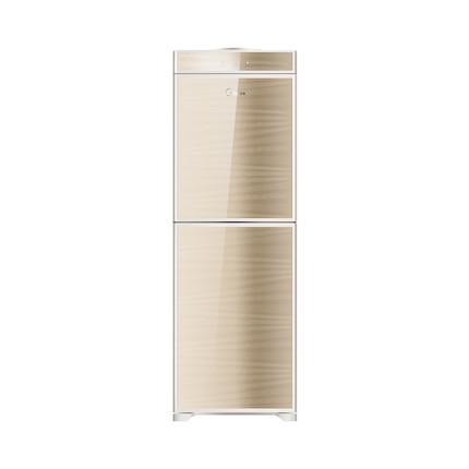 饮水机 钢化玻璃双开门 节能省电 香槟金MYD920S-W (冰热型)