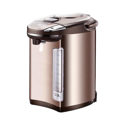 【下单送厨房四件套】电热水瓶 液晶显示 四段控温 关机取水 无残留水 PF704c-50G