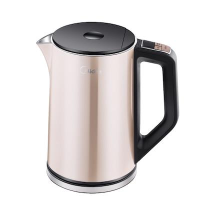 【多段控温】电水壶 1.5L 智能手柄控温 时尚外观 双层防烫 MK-HE1506