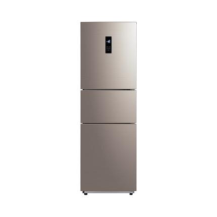【变频节能】美的冰箱 228L 三门风冷无霜 智能遥控  BCD-228WTPZM(E)