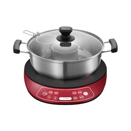 电磁炉 静音烹饪 一键火锅 全套火锅配件  C21-WT2133