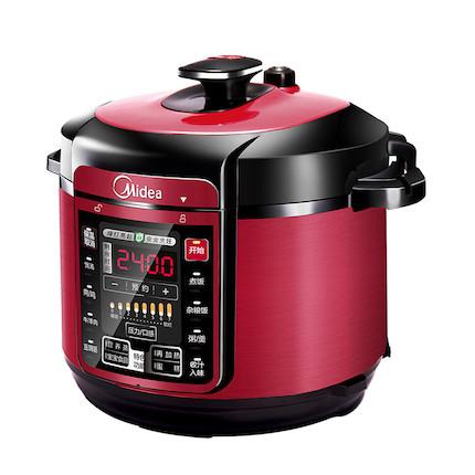 【家庭优选送利是封】电压力锅 6L大容量 一键排气 快速开盖 一锅双胆 MY-QC60A5