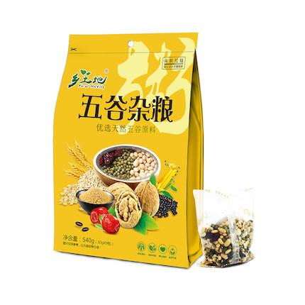 【五谷养生粥】 乡土地 五谷杂粮粥系列(内含9小包)