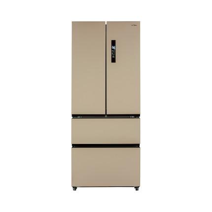 Midea/美的冰箱 405升多门冰箱 节能静音 BCD-405WTM(芙蓉金)