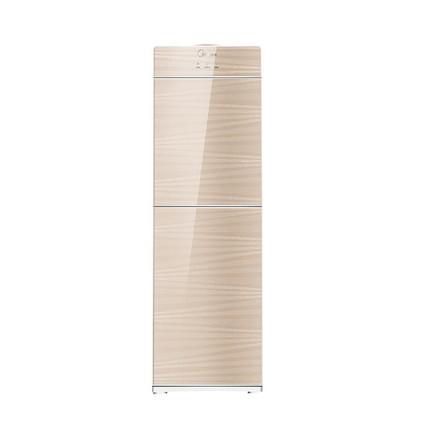 【香槟金】饮水机 安全卫生 钢化玻璃双门防尘 YR1612S-X(温热型)