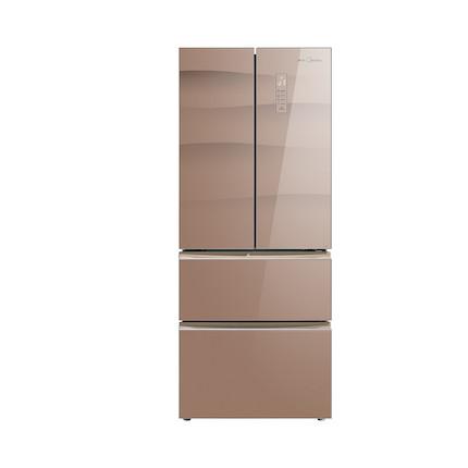 Midea/美的冰箱 320L 风冷无霜 i- AUTO 变频 BCD-320WGPZM