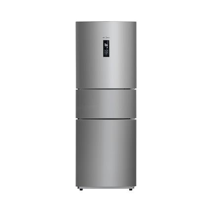 Midea/美的冰箱 风冷无霜 三门三温区 节能 BCD-258WTM(E)炫彩钢
