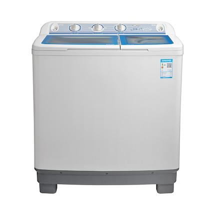 洗衣机 9KG双桶波轮 大容量 半自动 喷淋漂洗 MP90-S868
