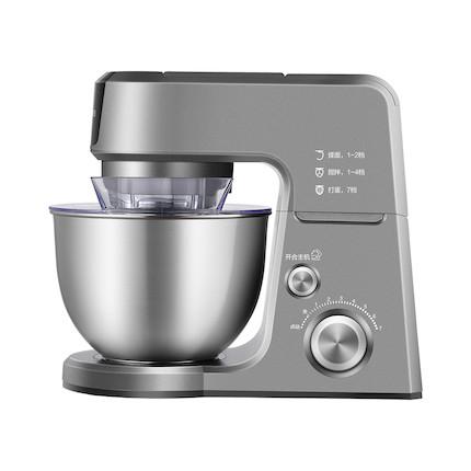【烘焙伴侣】厨师机 食品级材质 1000W大功率搅拌有力 铸铝喷涂 MJ-BK1003A