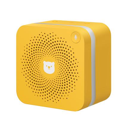 QQfamily定制版智能语音盒 MSBE-VA011-黄 科技潮品 儿童成长伴侣