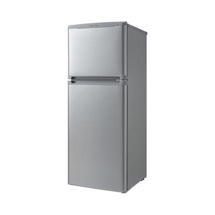 Midea/美的冰箱 111升 双门冰箱节能家用小冰箱(泰坦银)冰箱 BCD-111CM(E)