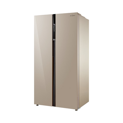 【热销】美的冰箱 521升 风冷无霜 电脑控温 对开门  BCD-521WKM(E)