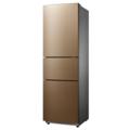 Midea/美的三门风冷冰箱 215升 节能省电 铂金净味  BCD-215WTM(E)阳光米
