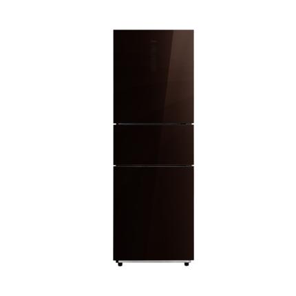 【新品推荐】美的(Midea) 冰箱三门 风冷无霜变频电冰箱 BCD-259WTGPZM(E)伯爵咖