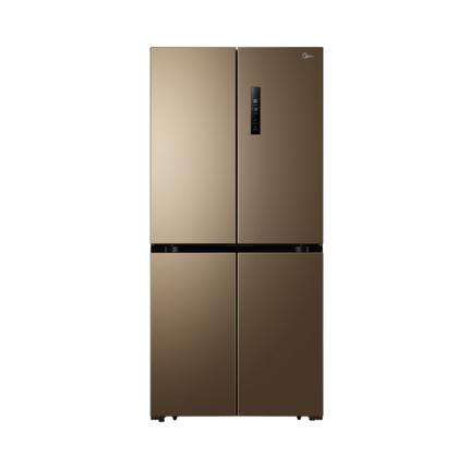 Midea/美的冰箱 468升 十字对开门冰箱 风冷无霜 电脑控温 BCD-468WTPM(E)冰箱