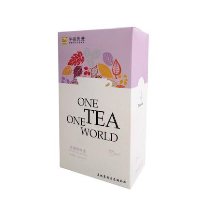 茶 玫瑰荷叶茶90g( 13g*5+5g*5)
