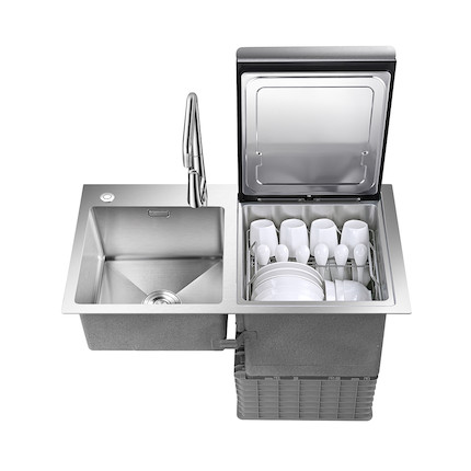 水槽洗碗机  4.0手工水槽 F3