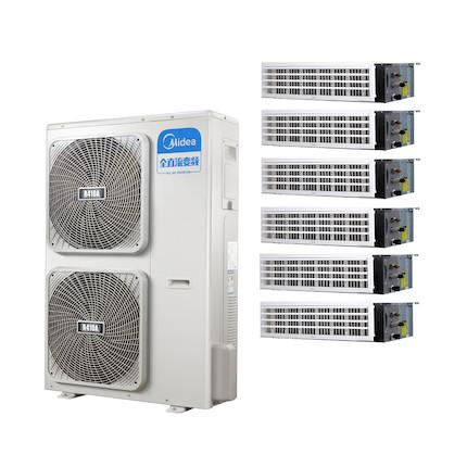 【0元安装】美的 一拖六变频一级能效 多联风管机 7匹 家用中央空调 MDS-H180W(E1)