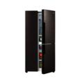 美的(Midea)408升双变频T型对开三门冰箱玻璃面板摩卡棕BCD-408WKGPZM(E)
