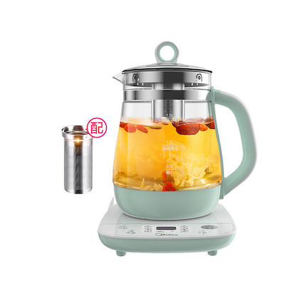【10大养生方案】养生壶  1.5L 10大功能 多段定温 配茶篮 MK-YS15Colour211