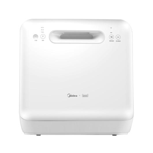 【天猫精灵联合定制】洗碗机 语音互联小型台式 MT大白 WQP4-W2602C-CN