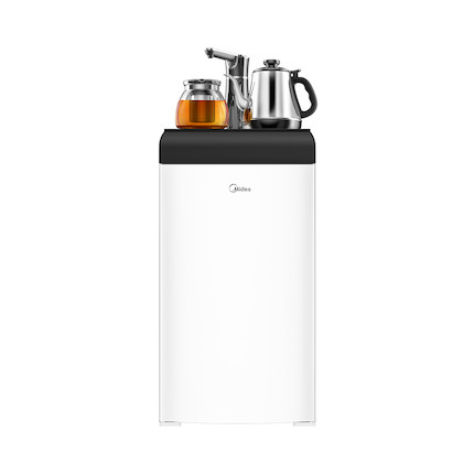 饮水机 下置水桶茶吧机 配双壶外置沸腾加热保温 自动加水壶满即停 YR1807S-X(白色)
