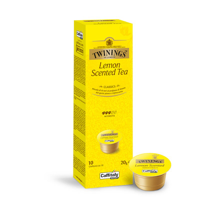 咖啡机胶囊 TWININGS 沁香柠檬红茶