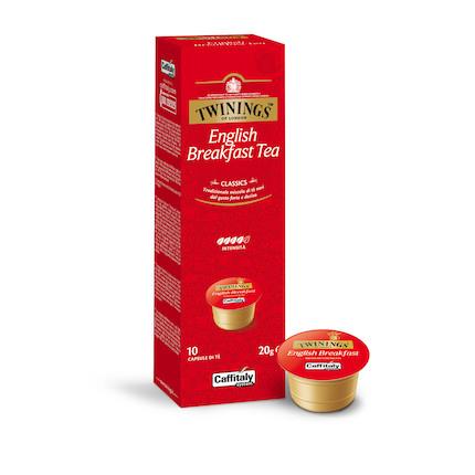 咖啡机胶囊 TWININGS 英式早餐红茶