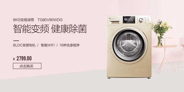 8公斤滚筒洗衣机 TG80V80WDG