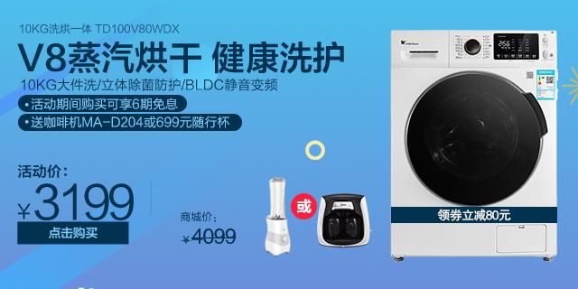 10KG洗烘一体 TD100V80WDX